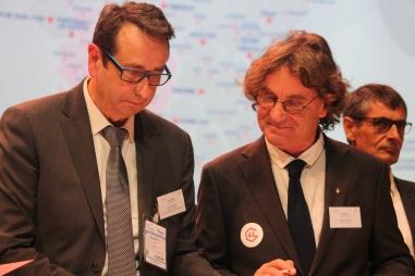 Les maires de Marmande et Tonneins signent la convention Action Logement.
